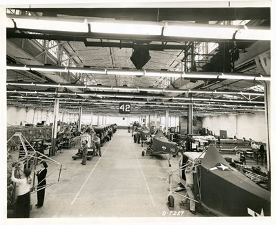 11-June-1944-Helicopter-Assembly-Line-bridgeport-plant-Sikorsky